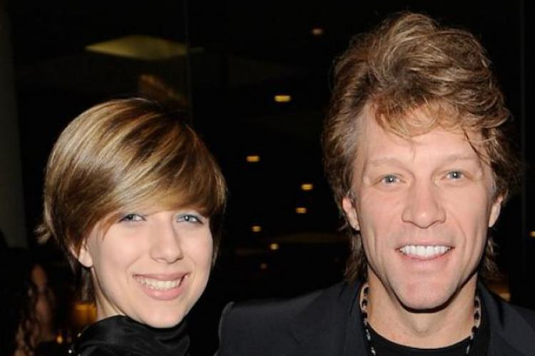 Stefani and John Bon Jovi